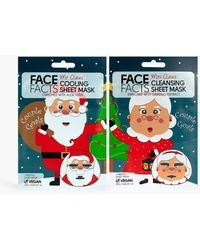 Boohoo Mrs Claus Cleansing Sheet Mask - Red