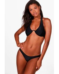 Boohoo - Tulum V Detail Underwired Bikini - Lyst