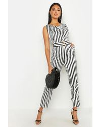 Boohoo Wooden Structured Grab Bag - Small - Black