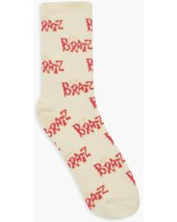 Boohoo Bratz Licensed Knitted Socks - White