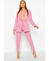 Boohoo Womens Maßgeschneiderte Hose - Pink