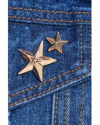 Boohoo - Kerry Star 2 Pack Pin Brooches - Lyst