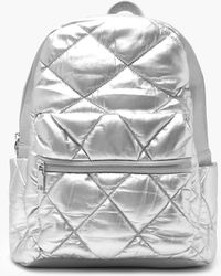 Boohoo - Puffy Quilted Rucksack - Lyst