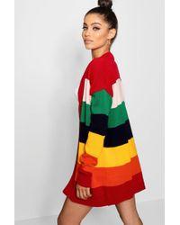 Boohoo - Kate Rainbow Cardigan - Lyst