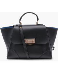 Boohoo Lily Structured Mini Satchel - Black