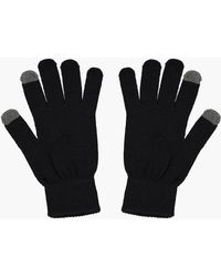 Boohoo - Mens Thermal Phone Touch Gloves - Lyst