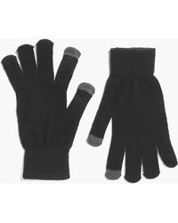Boohoo   Touch Screen Thermal Gloves   Lyst