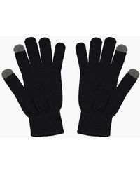 BoohooMAN Thermal Touch Screen Gloves - Black
