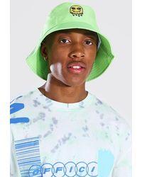 BoohooMAN Trippy Bucket Hat - Multicolor