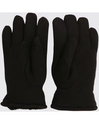 BoohooMAN Faux Fur Lined Classic Gloves - Black