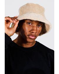 BoohooMAN Borg Bucket Hat - Multicolour