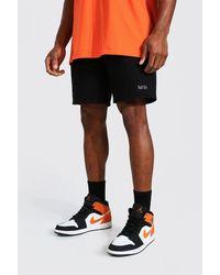 BoohooMAN - Original Man Mid Length Regular Jersey Shorts - Lyst