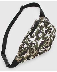 BoohooMAN Gürteltasche in Camouflage-Print - Mehrfarbig