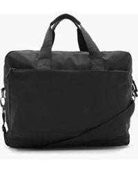 BoohooMAN Nylon Zip Laptop Bag - Black