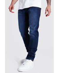 BoohooMAN Slim Jeans - Blau