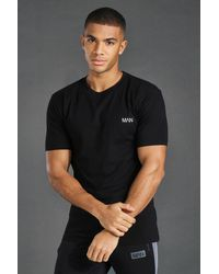 BoohooMAN - Short Sleeve Active Gym T-shirt - Lyst