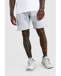 BoohooMAN - Man Signature Mid Length Jersey Shorts - Lyst