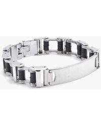 Boohoo - Box Chain Id Bracelet - Lyst