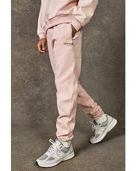 BoohooMAN Official Collection Jogginghosen aus schwerem Gewebe - Pink