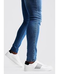 BoohooMAN - Side Tape Detail Sneaker - Lyst