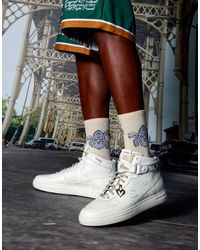 BoohooMAN 3er-Pach Jacquard-Socken - Lila