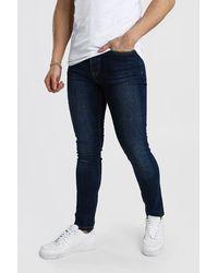 BoohooMAN Skinny Fit Jeans - Blue