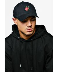 8c868d5a13 Wasted Paris Loveless Rose Beanie In Black in Black for Men - Lyst