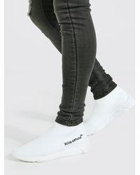 BoohooMAN Official Man Socken-Sneaker - Weiß