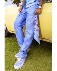 BoohooMAN Ombre Paisley Bandana - Blue
