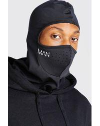 BoohooMAN Man Active Balaclava Snood With Air Holes - Black