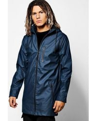Boohoo - Water Resistant Hooded Unlined Parka - Lyst