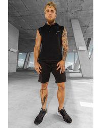 BoohooMAN Sportliche Fitness-Shorts - Schwarz