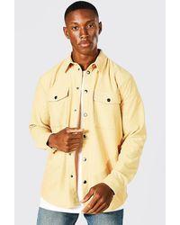 BoohooMAN Cord-Overshirt - Mehrfarbig