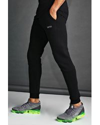 BoohooMAN MAN Active Tapered Fit Jogger - Schwarz