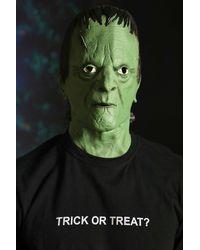 BoohooMAN Masque de Frankenstein - Vert