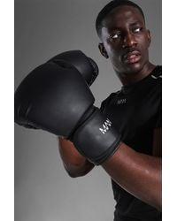 BoohooMAN Man Active Gym Boxing Gloves - Black