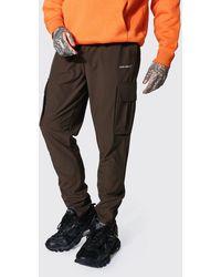 BoohooMAN Original Man Tapered Fit Cargo Trouser - Multicolore