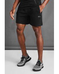 BoohooMAN MAN Active Fitness-Shorts - Schwarz