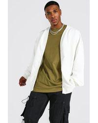 BoohooMAN Oversize Man Official Jersey-Cardigan - Mehrfarbig