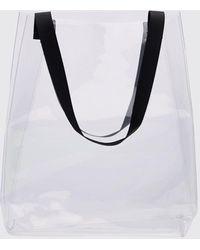 BoohooMAN Clear Tote Bag - Metallic