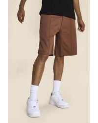 BoohooMAN - Skate Chino Shorts - Lyst