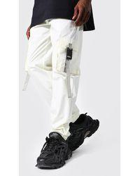 BoohooMAN Original Man Jogginghosen mit Schnalle - Mehrfarbig