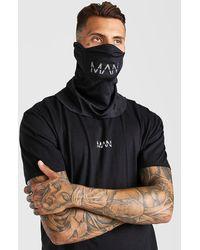 BoohooMAN Man Active Snood - Black