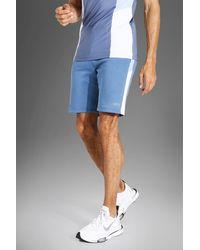 BoohooMAN Tall Man Active Shorts - Blau