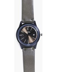 Boohoo - Nylon Strap Man Watch With Date Window - Lyst
