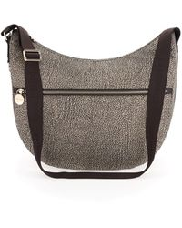 Borbonese Luna Bag Medium - Marrone