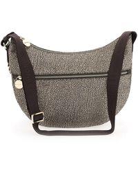 Borbonese Luna Bag Middle - Marrone
