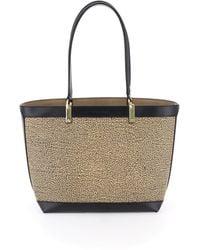 Borbonese Shopping Bag Medium - Multicolore