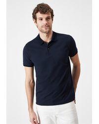 Boris Becker Polo Neck T-shirt - Blue