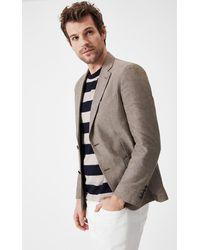 Boris Becker Linen Blazer Jacket - Multicolour